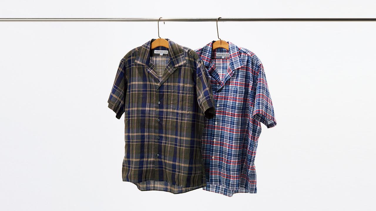 インディビジュアライズド シャツのキャンプカラーシャツ