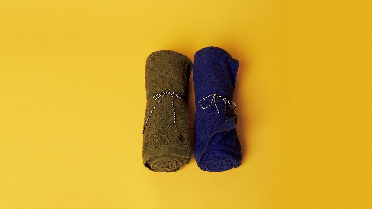 カナダのバンクーバー発〈サンディニスタ〉がタオルの名産地・今治で作ったバスタオル