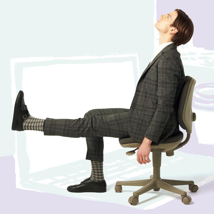 デスクワーク中にできる筋弛緩法