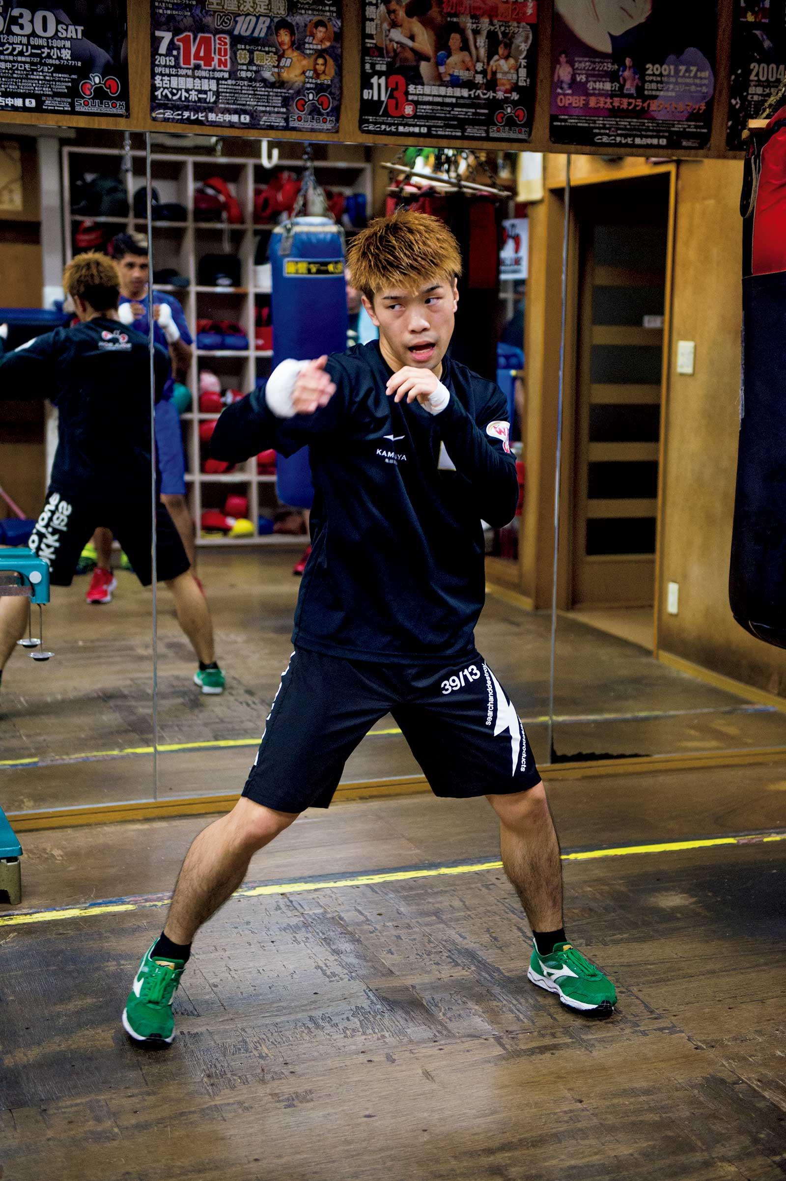 ボクシング選手・田中恒成