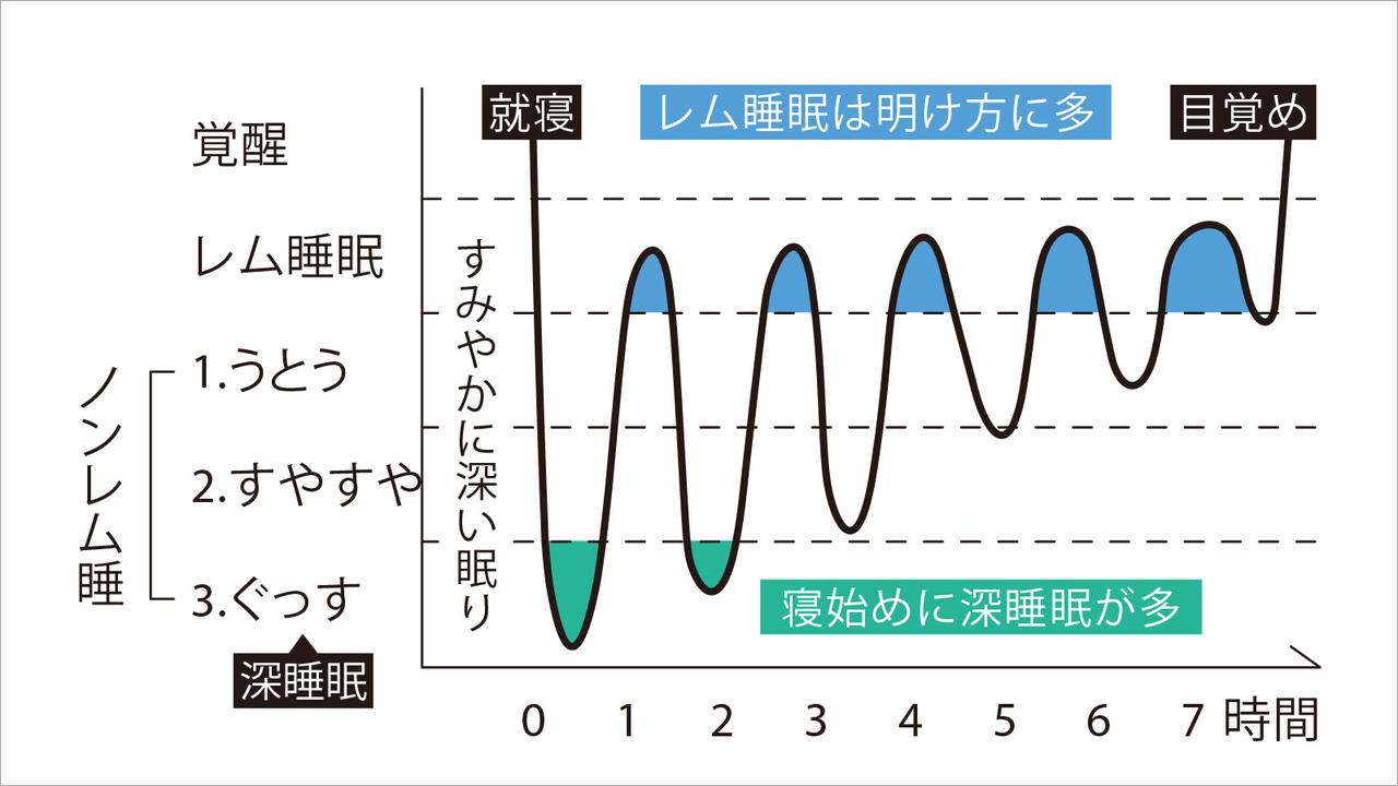 良い睡眠のパターン