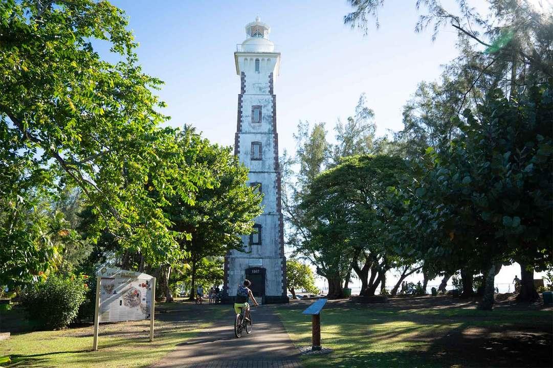 〈ヴィーナス岬〉の灯台
