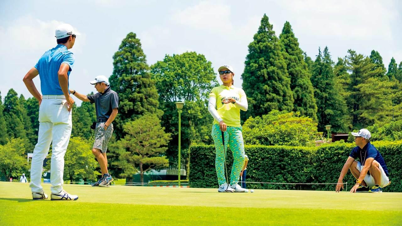 プロゴルフ選手・比嘉真美子(ひが・まいこ)