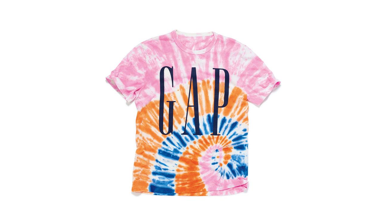 ギャップの50周年記念Tシャツ