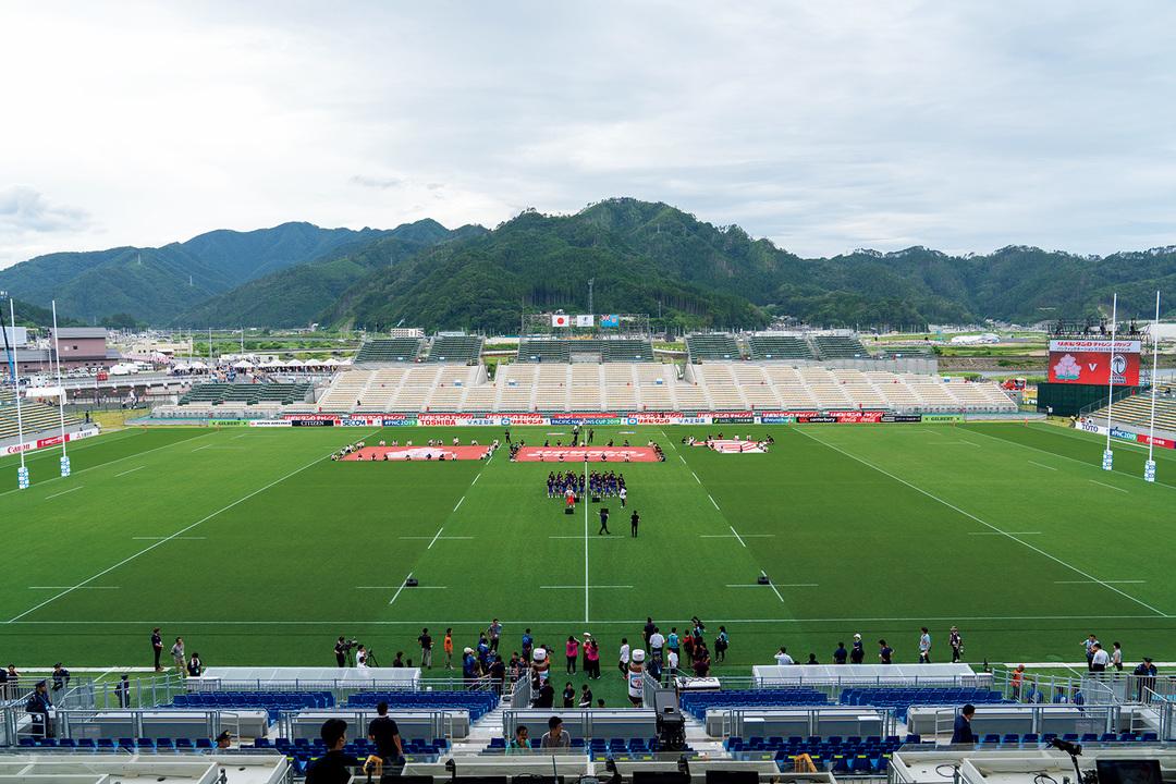 """釜石鵜住居復興スタジアムは、""""気づき""""を与えてくれるスタジアムだ。"""