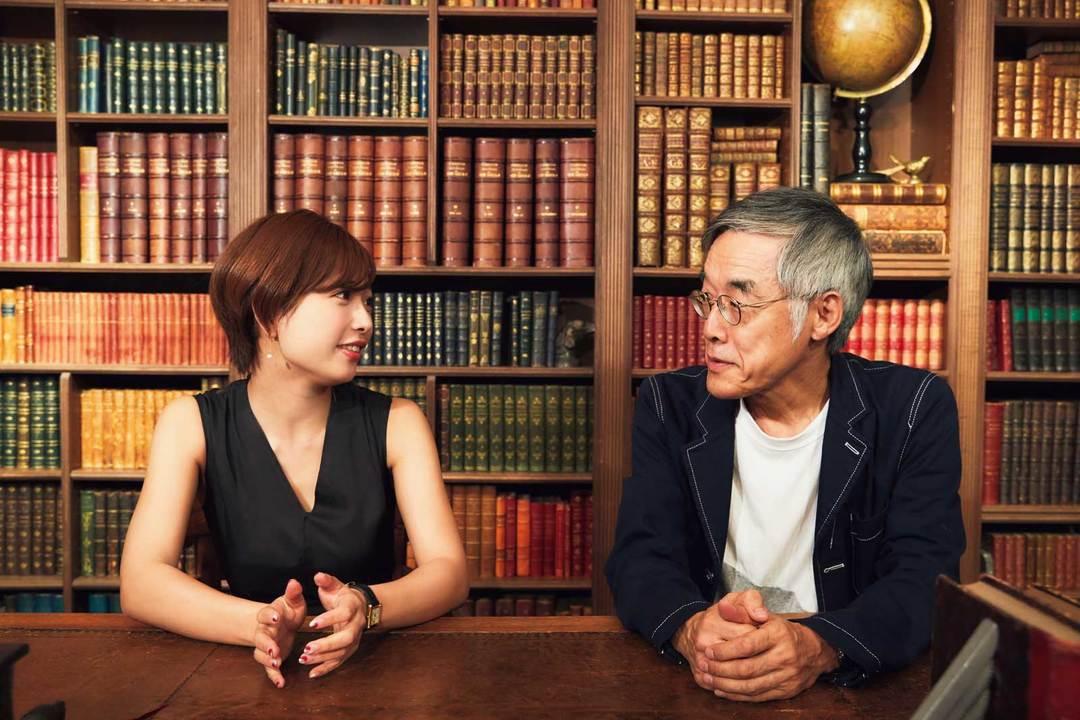 AV女優にして小説家の顔も持つ紗倉まなさんと、小説家にしてAV出演経験もあるという高橋源一郎さん。