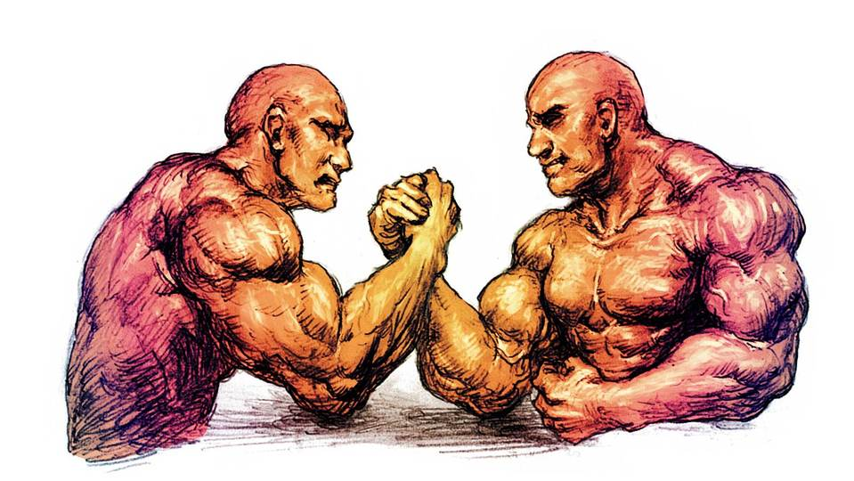 理論&実践! 腕相撲に勝つための筋肉ってどこですか?
