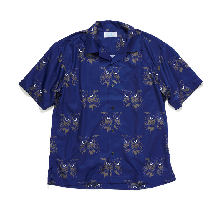 オンブレ・ニーニョのオープンカラーシャツ