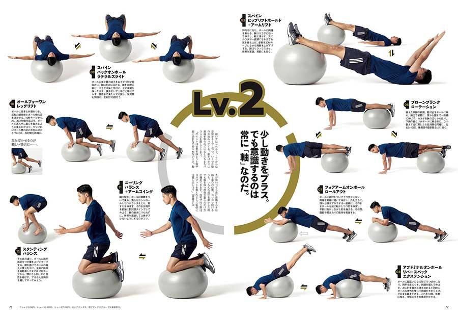 ターザン772号収録・『徹底バランスボールトレーニング20』ページ
