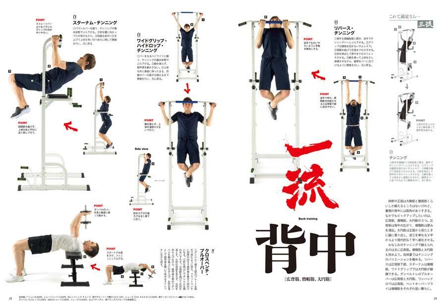 ターザン773号掲載『一流の自体重トレ&ダンベルトレ』企画