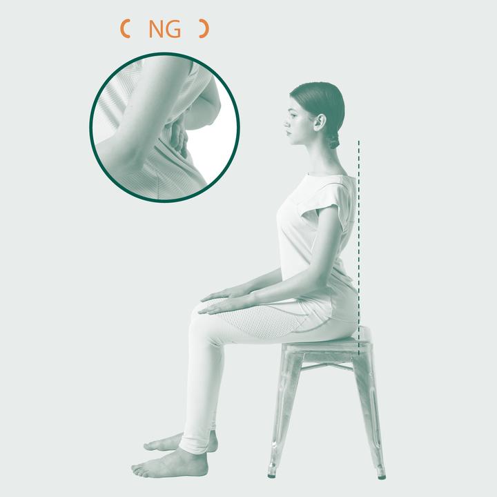腰痛の要因、反り腰のチェック。
