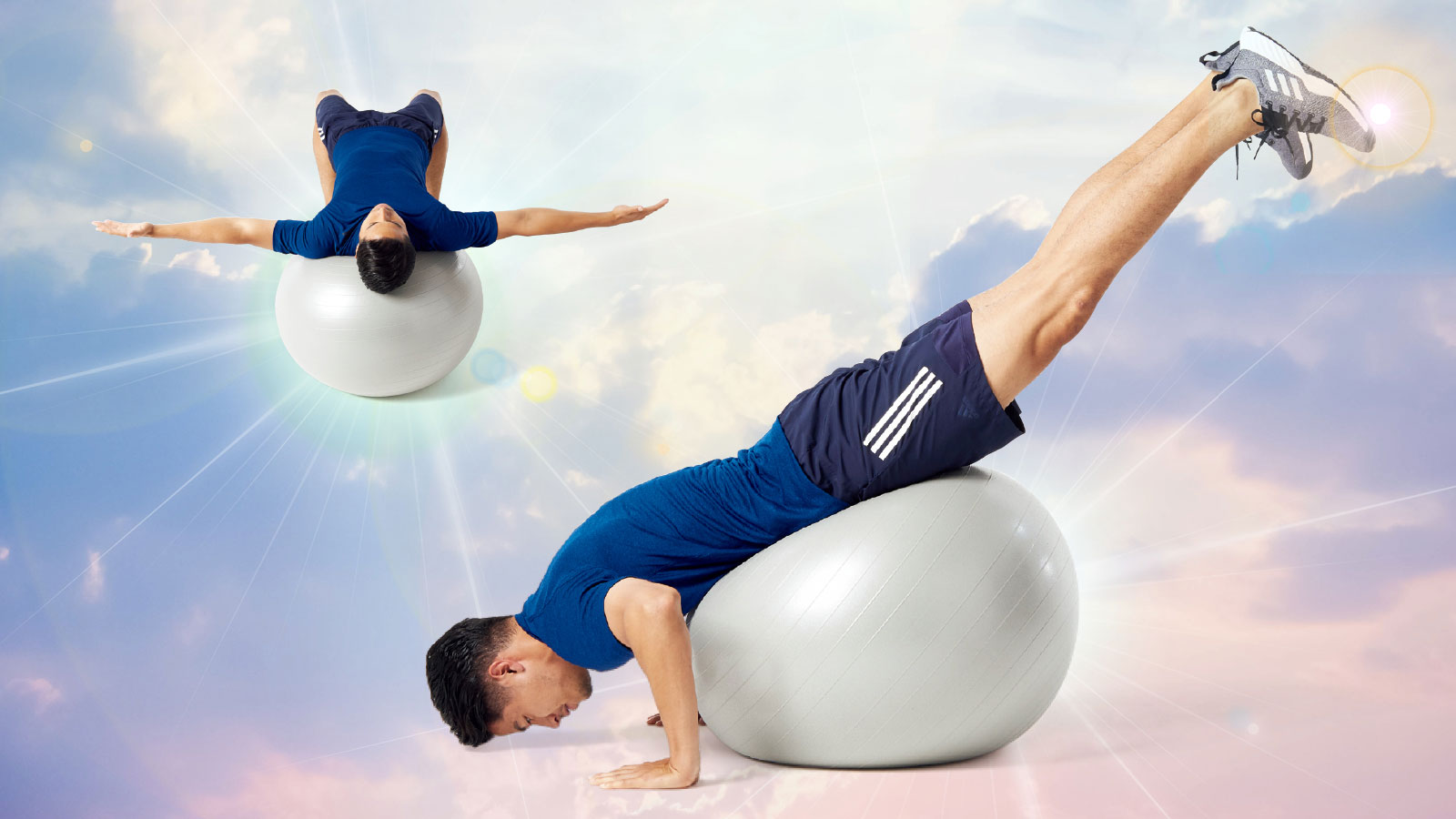 トレーニング バランス アスリート ボール