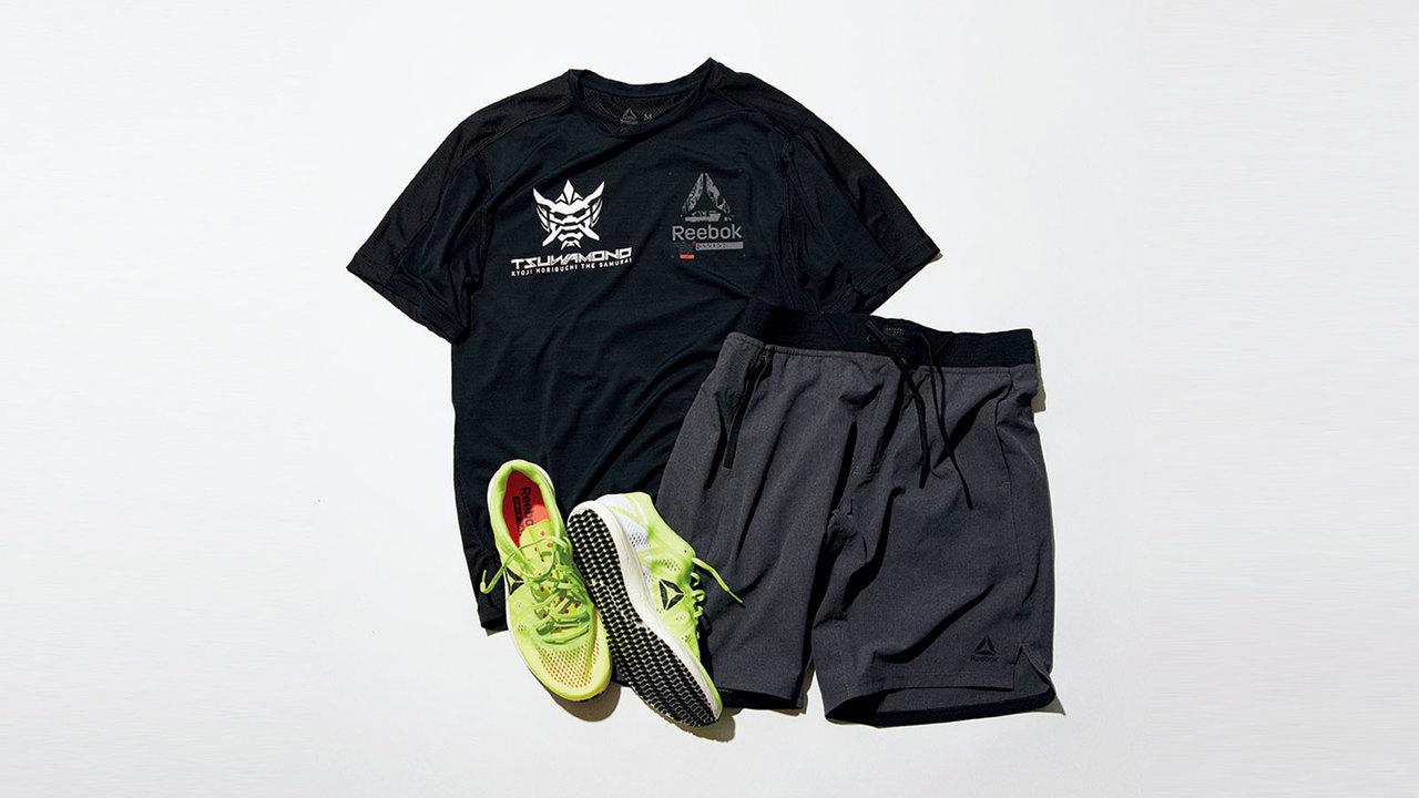 堀口選手を象徴する「Tsuwamono」シリーズのTシャツ