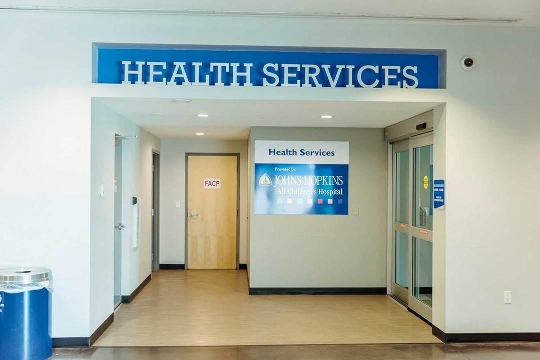 IMGアカデミー内にはジョンズ・ホプキンス大学病院の出張所がある