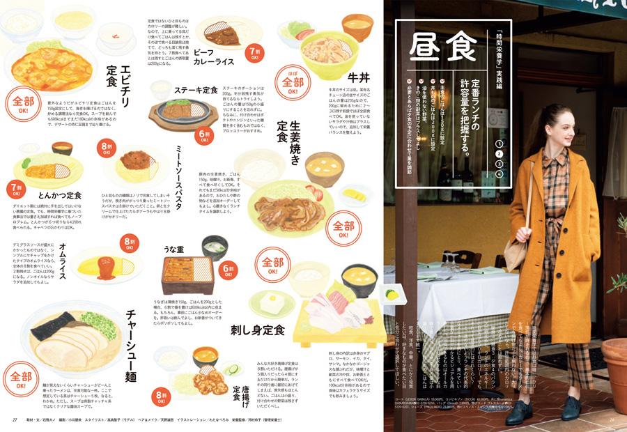"""ターザン776号掲載の『""""時間栄養学""""実践編・昼食』企画"""