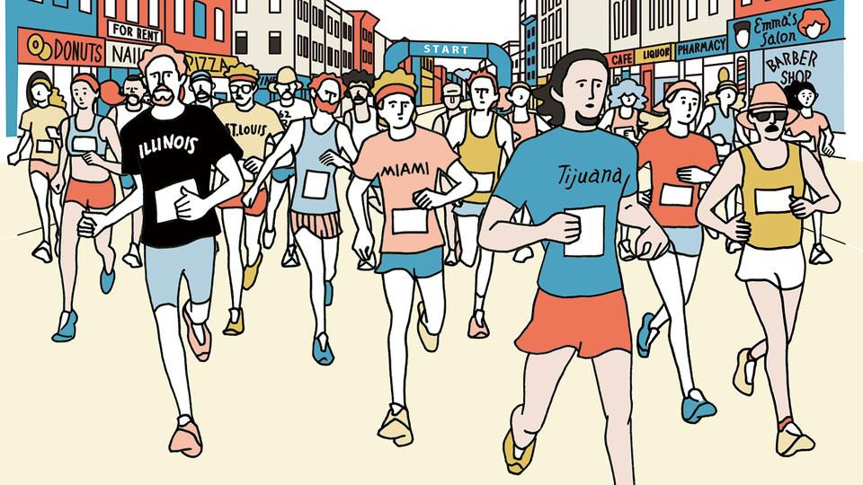 中野ジェームズ修一監修。ハーフマラソン参加で痩せランを仕上げよう!