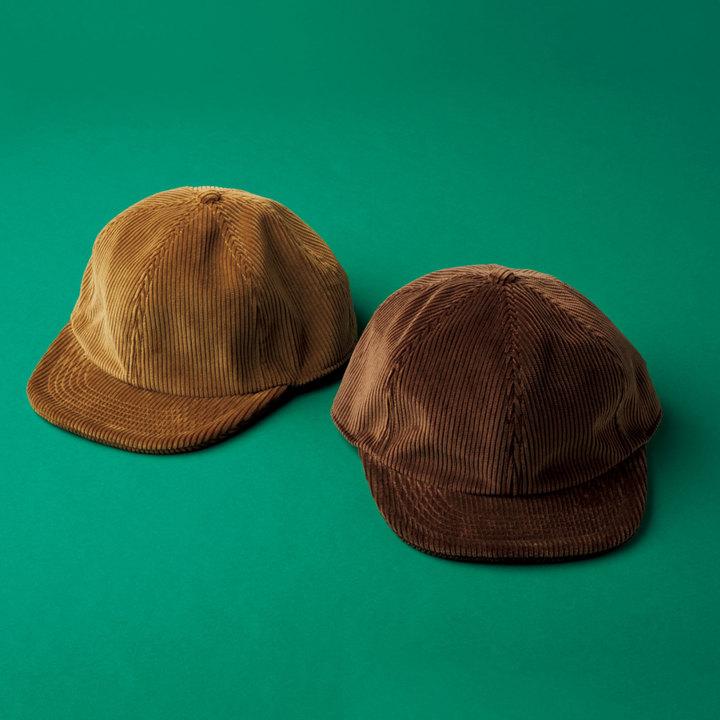 リノから登場したCORDUROY BALL CAP