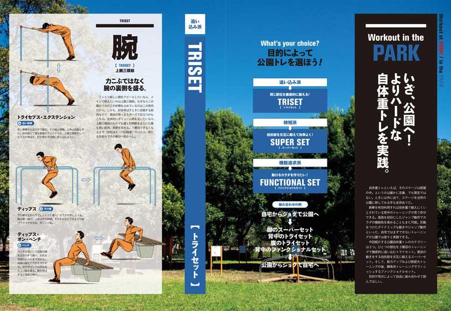 ターザン777号『いざ、公園へ! よりハードな自体重トレを実践』企画