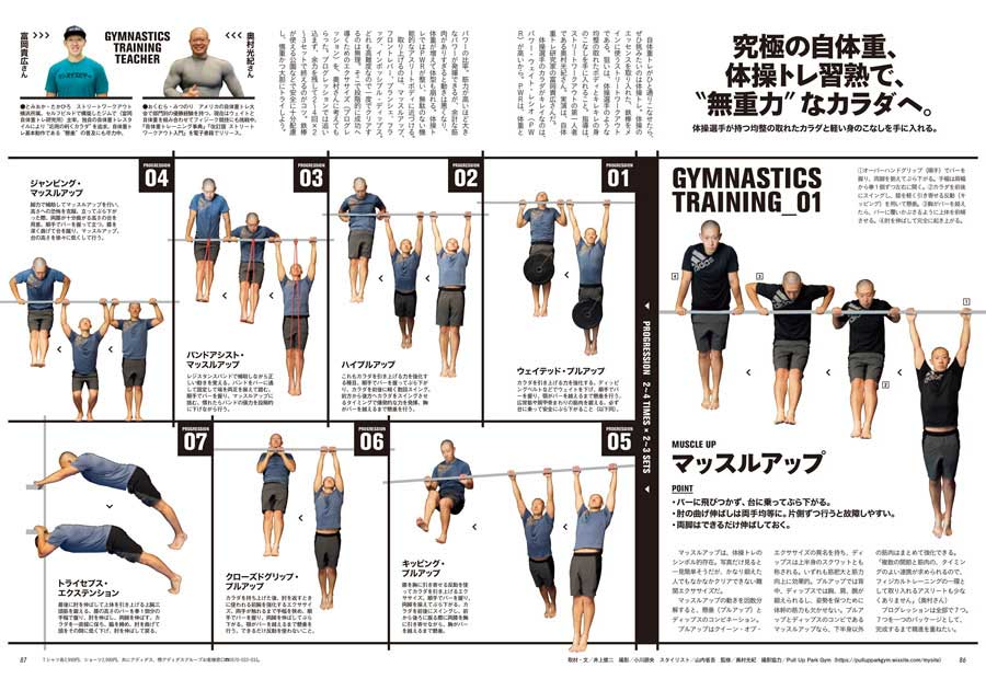 """ターザン777号『究極の自体重、体操トレ習熟で、""""無重力""""なカラダへ』企画"""