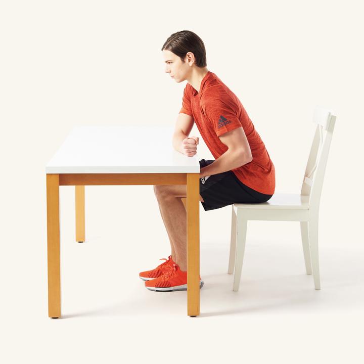 テーブルアームカール