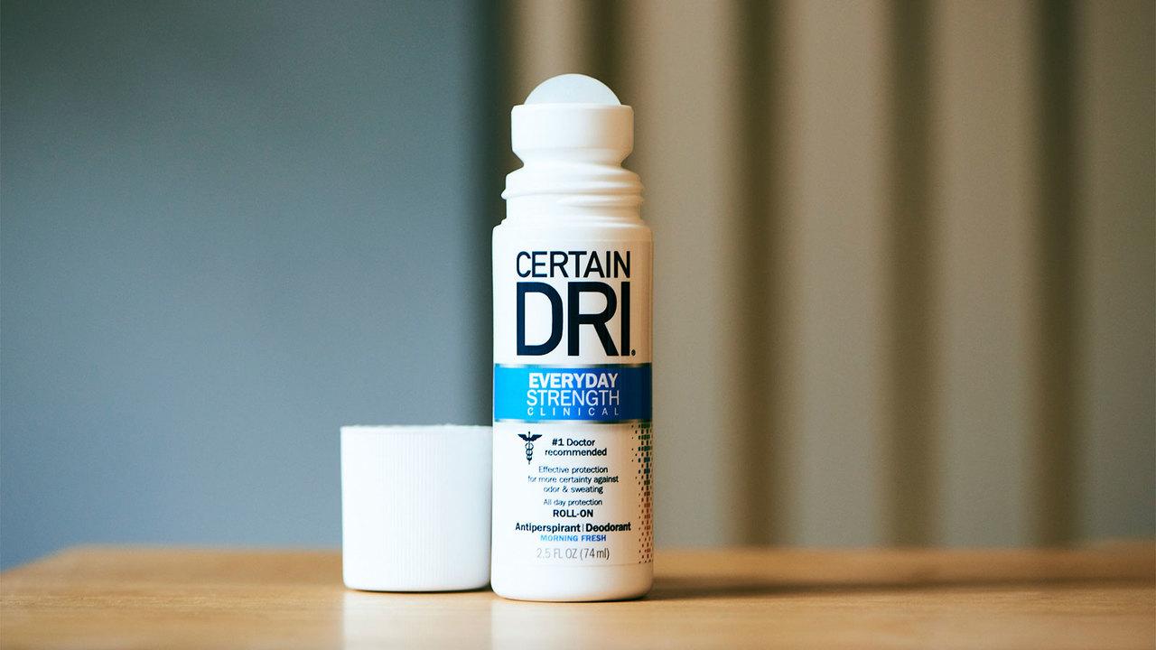 〈Certain DRI〉脇用制汗剤