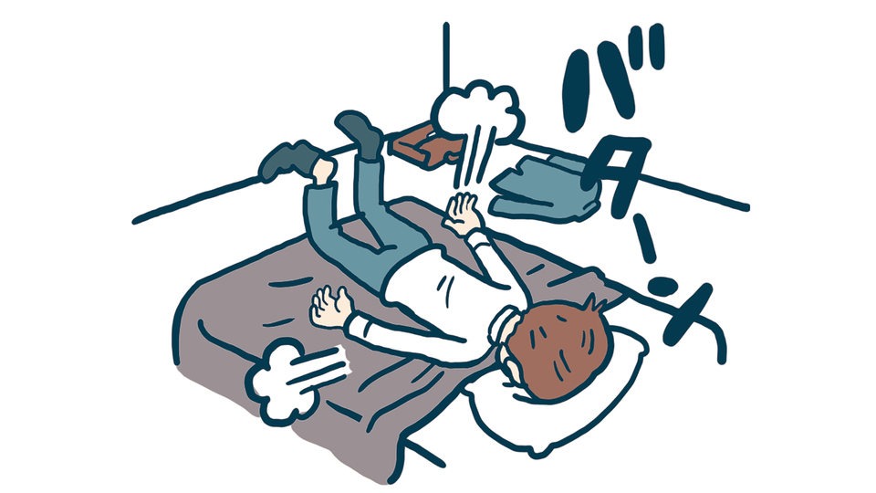 睡眠の質を低下させるNG習慣