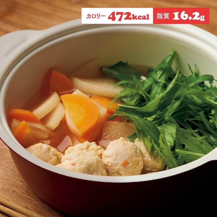 鶏つくねの鍋