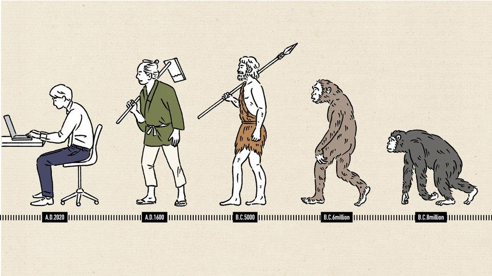 人類の「座り」の歴史