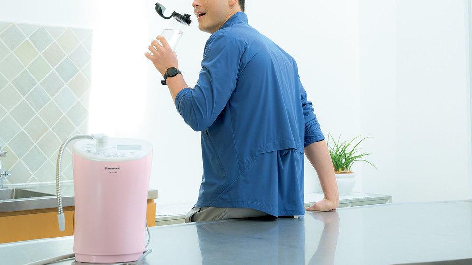 飲むべきはこだわりの水! アルカリイオン水をアフターランにしっかり補給