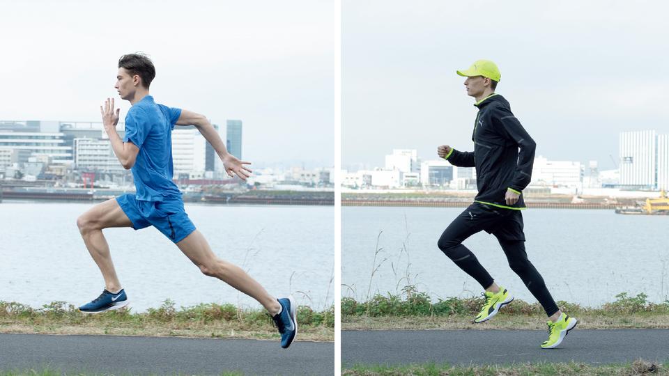 短距離走と長距離走の違い