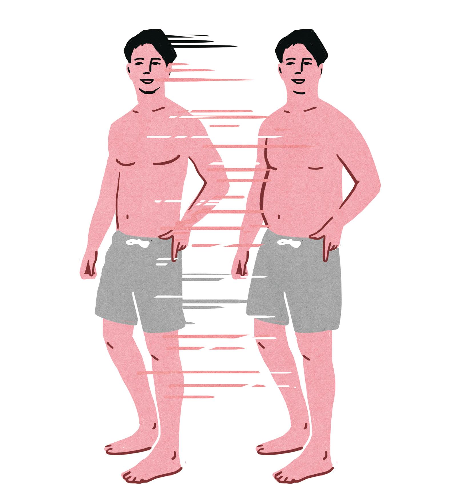 細マッチョへの変身が通常より効率よく進む。