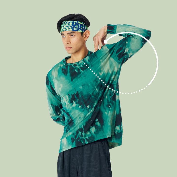肩関節8の字運動04