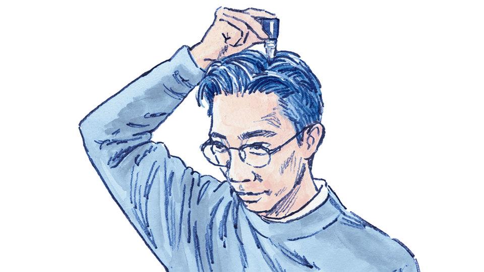髪の悩み深き『ターザン』編集部の3人が、《リアップX5プラス》を語る