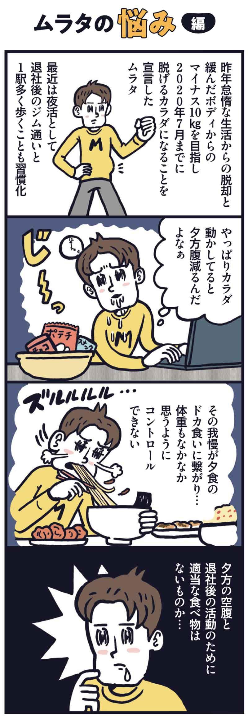 マンガ「ムラタの悩み編」