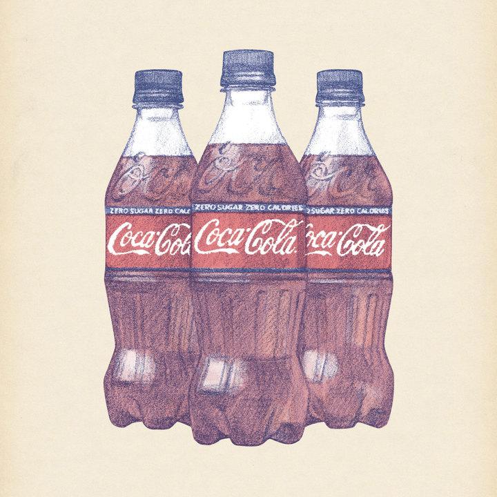 >《コカ・コーラゼロ》