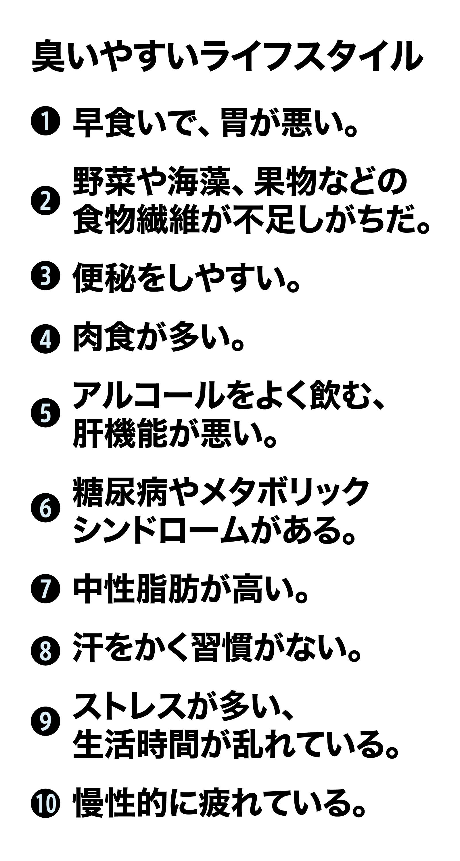 日本人はなぜ臭いと言われるのか