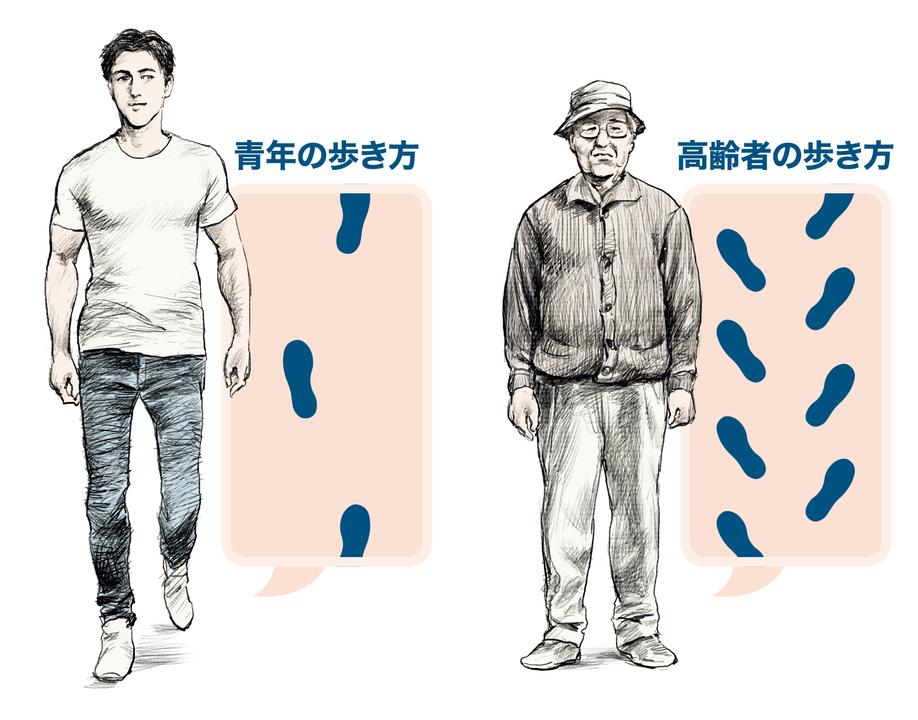 歩き方に加齢は関係ないは、勘違い