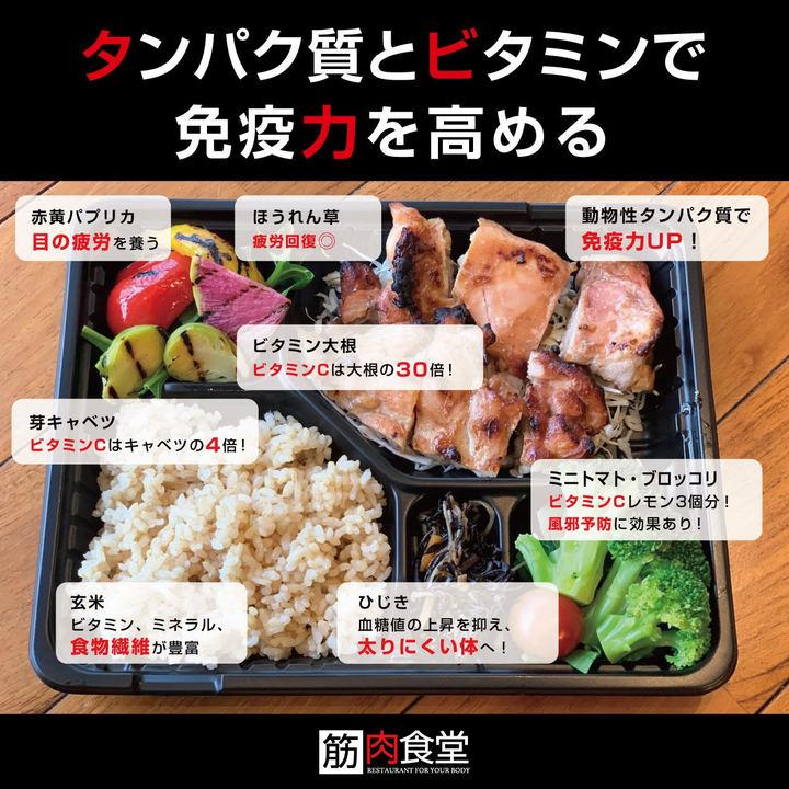 筋肉食堂のお弁当